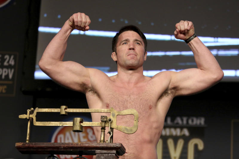 Chael Sonnen beats Quinton 'Rampage' Jackson at Bellator MMA World Grand Prix