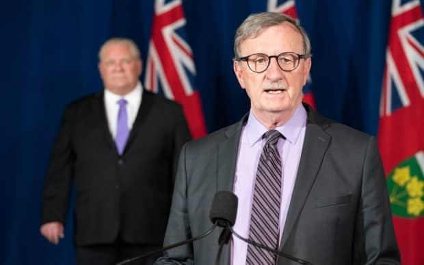 Dr. David Williams, Ontario's chief medical officer of health, says the province has not yet answered the question of who is essential when it comes to workers and its vaccine rollout.