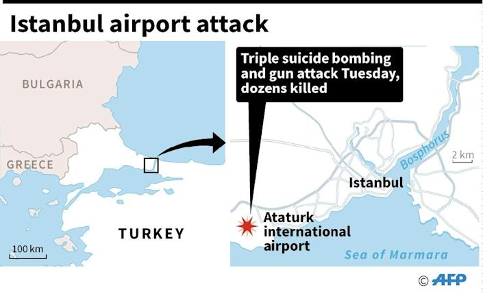 Istanbul airport attack (AFP Photo/)