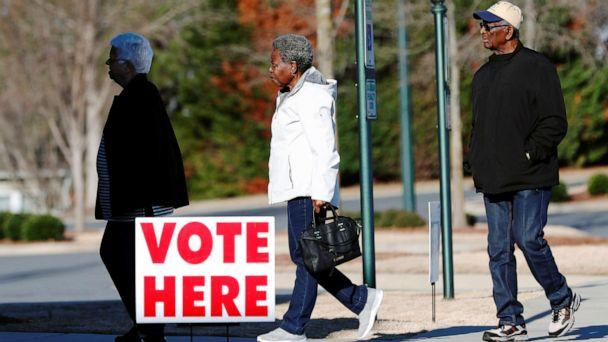 PHOTO: Voters arrive to cast their votes at a polling station for the South Carolina Democratic primary, in Fort Mill, S.C. on Feb. 29, 2020. (Lucas Jackson/Reuters)