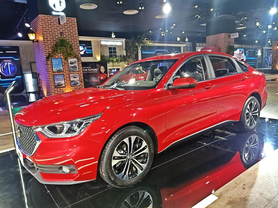 The RC6 is a large and attractive sedan and is more like a Camry/Superb rival, but with a lot more features and is bigger than either.