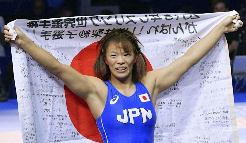 Risako Kawai is aiming to defend her gold medal at her home Olympics. Photo: Gettyimages