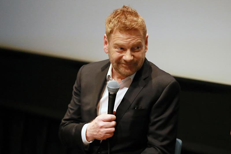 "LOS ANGELES, CALIFORNIA - MAY 08: Kenneth Branagh speaks during Q&A at Special Screening Of Kenneth Branagh's ""All Is True"" at The Landmark on May 08, 2019 in Los Angeles, California. (Photo by Leon Bennett/Getty Images)"