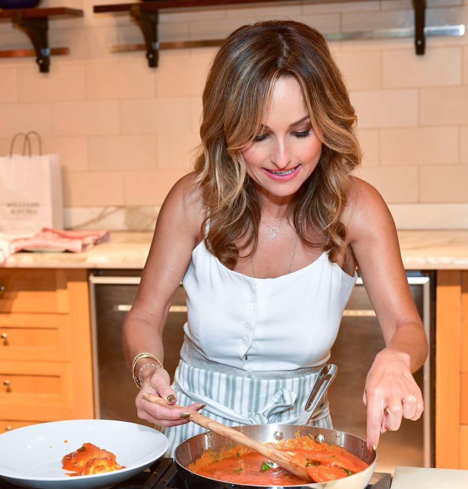 <p>Even though <em>Everyday Italian </em>is hard to beat, there's something so laid-back and effortless about Giada's second show, in which she cooks easy and delicious recipes in her California kitchen.</p>