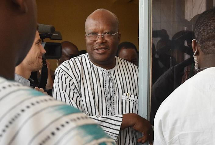 President Roch Marc Christian Kabore, 58, is Burkina Faso's first new leader in almost three decades (AFP Photo/Issouf Sanogo)