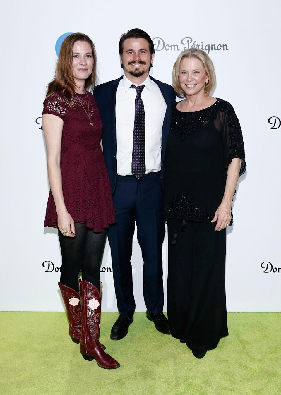 <p>When Jason Ritter began acting, he was pegged as his father, John Ritter's, mini-me. But there's another lookalike in the family. Carly Ritter, Jason's younger sister, shares the same nose and eyes as her brother. </p>