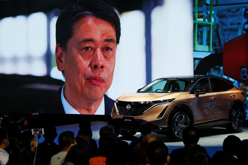 Nissan to launch slew of new vehicles in China over next five years, CEO says