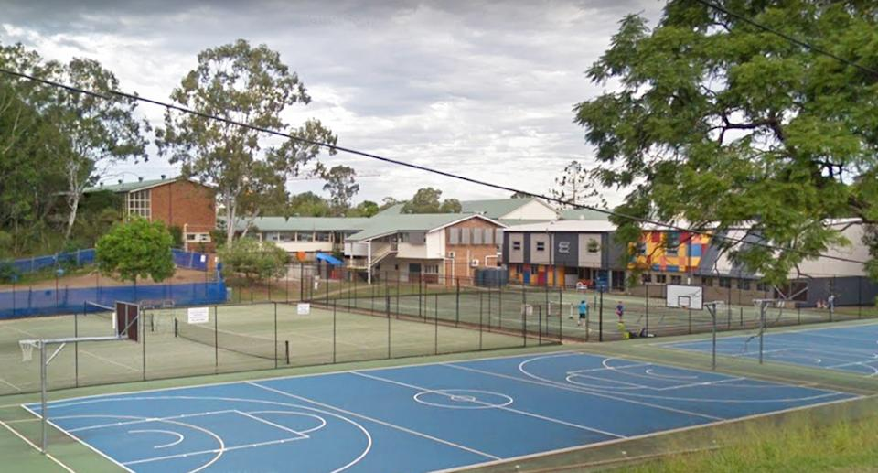 Indooroopilly State High School has been shut for 48 hours. Source: Google Maps