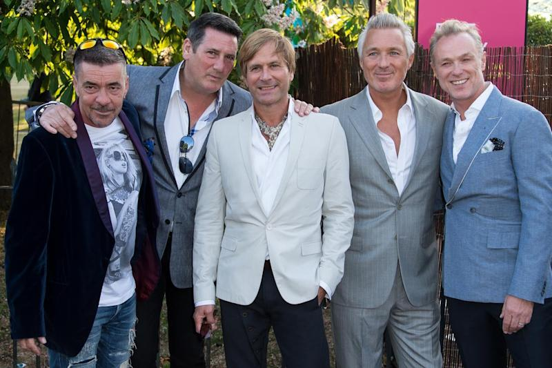 Martin and Gary are keen to stress that the rest of the band doesn't look stupid in the film (Ian Gavan/Getty Images)
