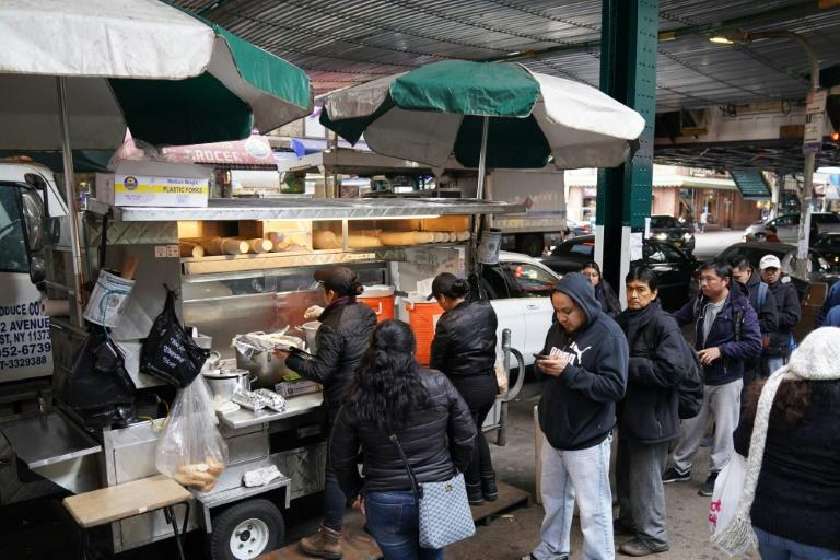 Bad weather can be a problem for street food vendors -- but so can assaults, robberies and arrests, with women particularly at risk