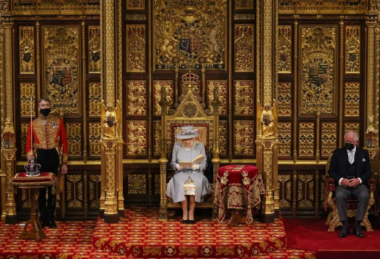 The Queen said her government's priority was the national recovery from the pandemic
