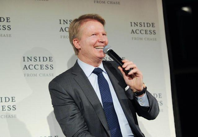Phil Simms will move to the studio as part of CBS' NFL coverage. (AP)