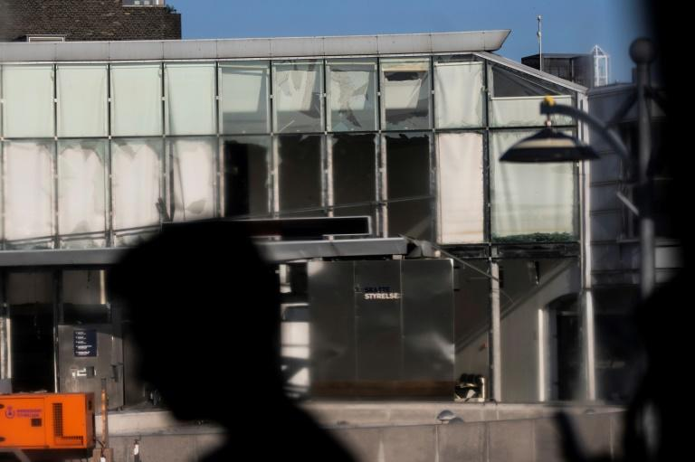 The tax agency blast smashed windows and tore apart the front of the building in Copenhagen's Osterbro neighbourhood