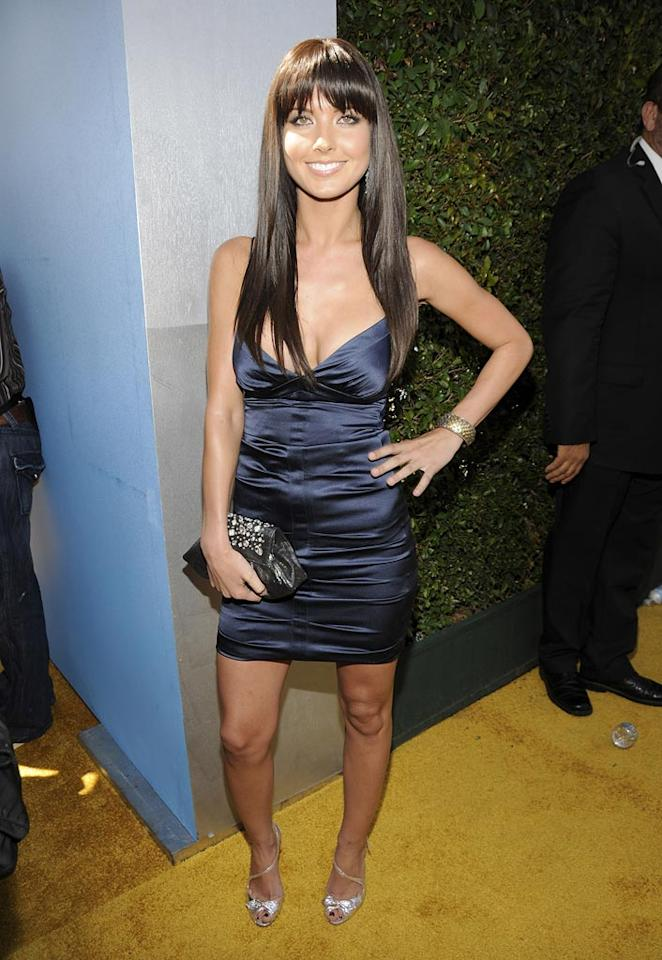 BEST - Audrina Patridge did a bang-up job with selecting this low-cut number in royal blue.