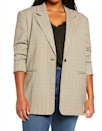 "Because one blazer is never enough. $99, Nordstrom. <a href=""https://www.nordstrom.com/s/treasure-bond-plaid-blazer-plus-size/5537778"" rel=""nofollow noopener"" target=""_blank"" data-ylk=""slk:Get it now!"" class=""link rapid-noclick-resp"">Get it now!</a>"