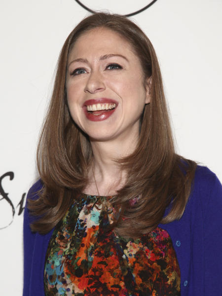 Chelsea Clinton attends Variety's Power of Women: New York Presented by Lifetime, at Cipriani Midtown on Friday, April 21, 2017, in New York. (Photo by Andy Kropa/Invision/AP)