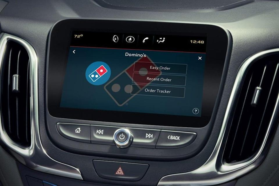 Domino's Adds In-Vehicle Ordering for Customers