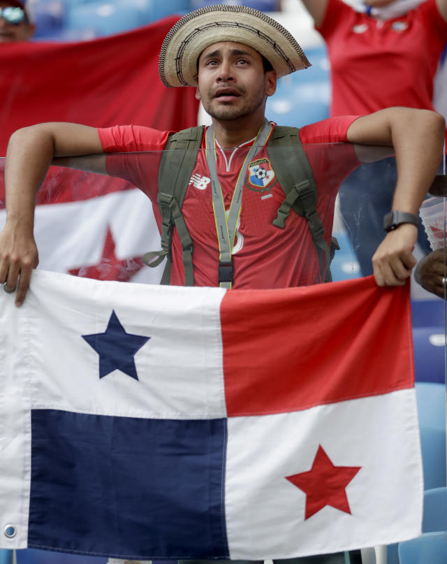 <p>Their 6-1 drubbing wasn't a great specatcle for Panama's fans </p>