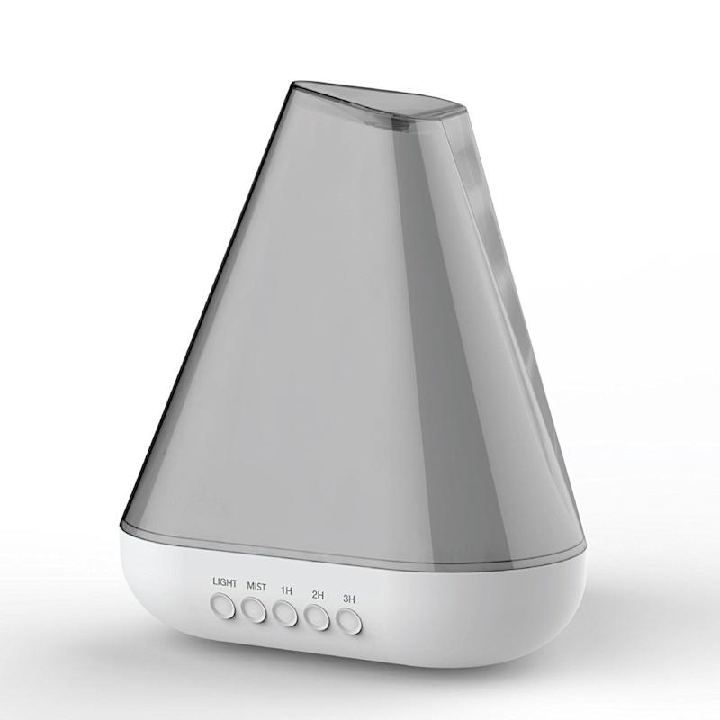 """Upgrade them from a scented wall plug-in to an <a href=""""https://www.amazon.com/essential-Diffuser-fragrance-ultrasonic-Aromatherapy/dp/B01M1NSOJA/ref=sr_1_1?s=home-garden&ie=UTF8&qid=1510162914&sr=1-1&keywords=pilgrim+diffuser"""" target=""""_blank"""">essential oil diffuser</a>."""