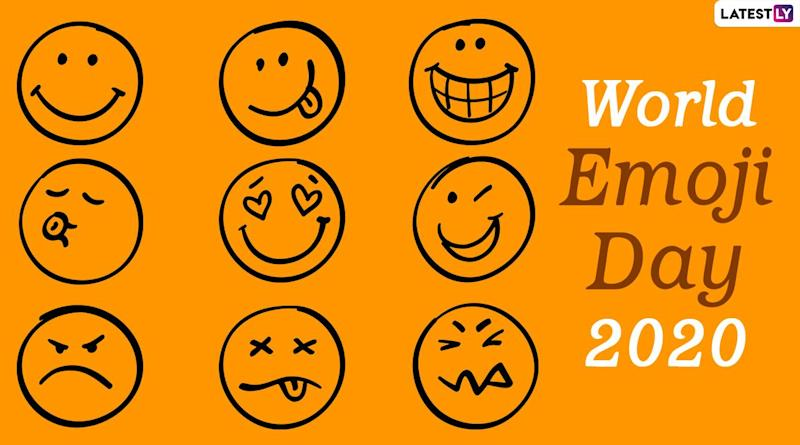 World Emoji Day 2020 Date and Significance: Know History of The Day That Celebrates The Use of Emoticons and Symbols in Digital Communication