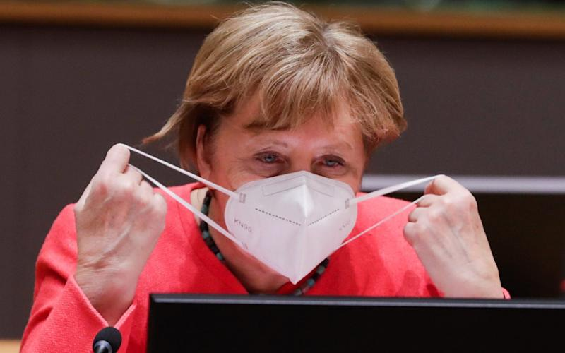 Germany, under Chancellor Angela Merkel, was commended for its rapid response and mass testing programme. - STEPHANIE LECOCQ/POOL/EPA-EFE/Shutterstock