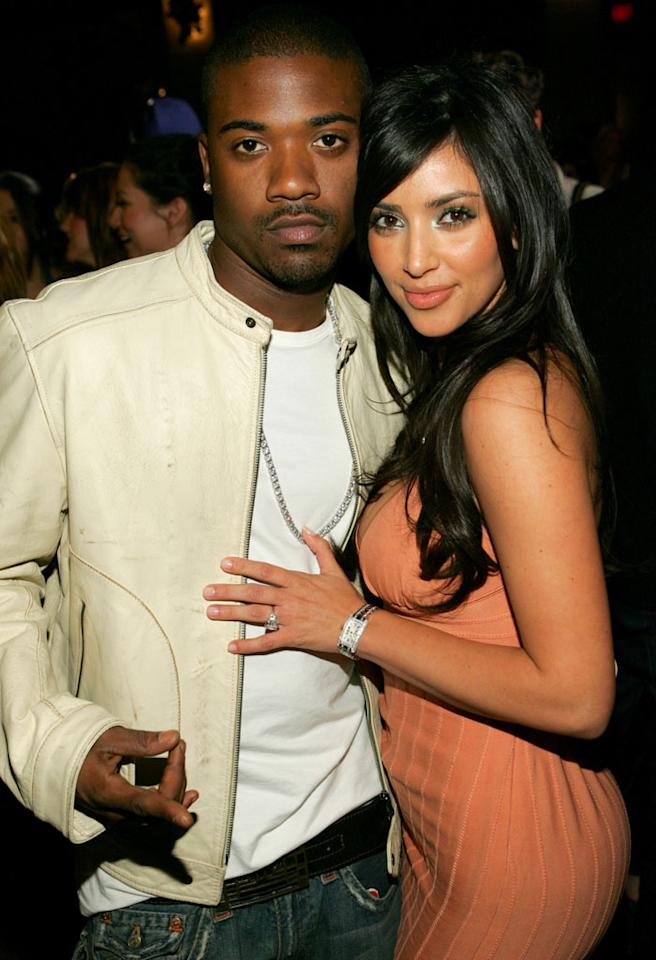 Ray J and Kim Kardashian (Photo by John Shearer/WireImage)
