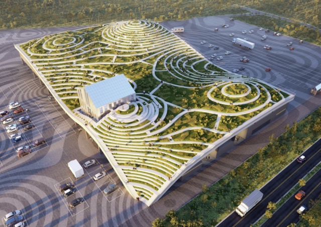 <p>台南新化果菜市場預計於2021年開放|Tainan's Xinhua Fruit and Vegetable Market is scheduled to open to public in 2021. (Courtesy of MVRDV)</p>