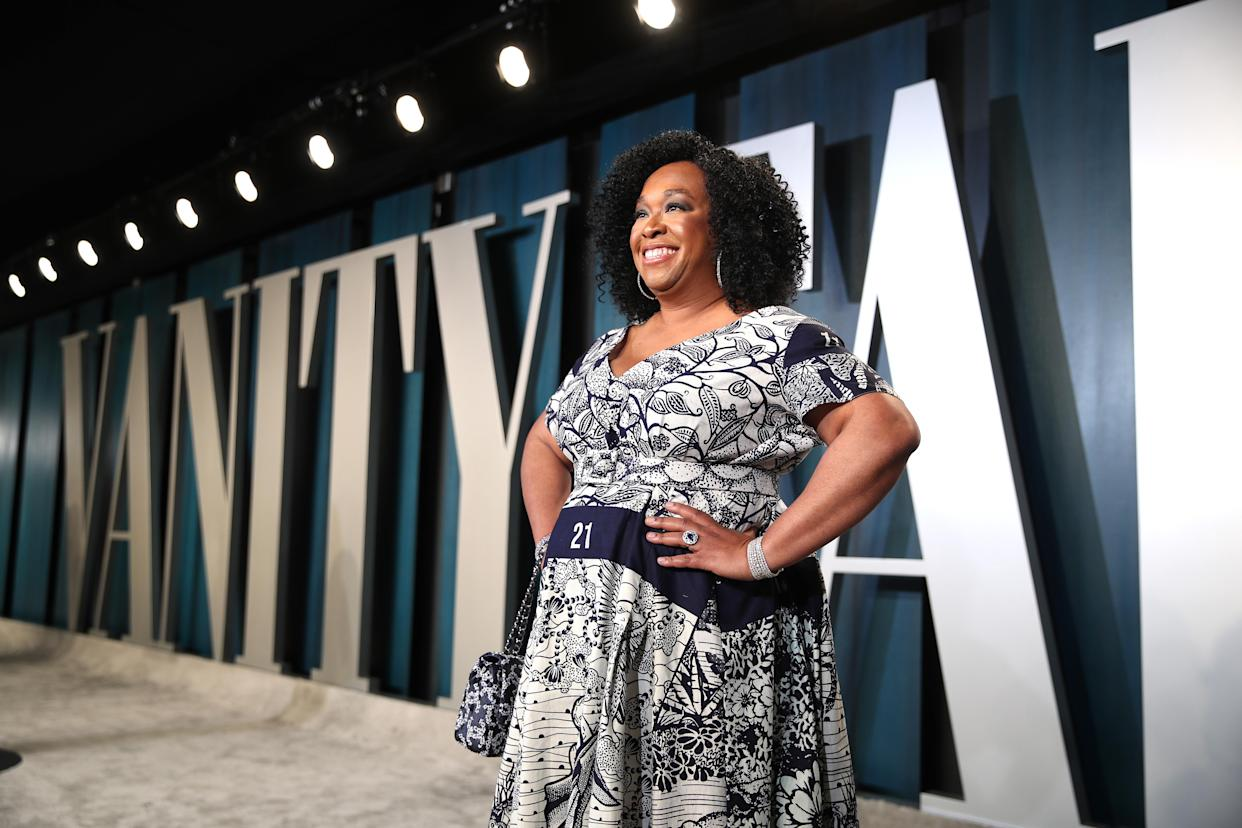 Shonda Rhimes says she was surprised by the intensity of the reaction to Regé-Jean Page's exit from the 'Bridgerton' cast. (Rich Fury/VF20/Getty Images for Vanity Fair)