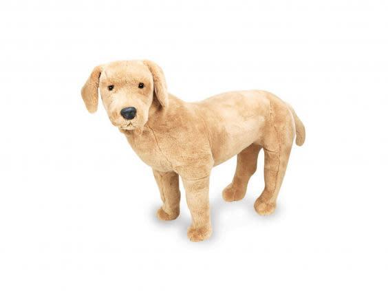 This lifelike dog can help adjust kids with sight loss and to having a guide dog later on in life (Rogate Primary School)