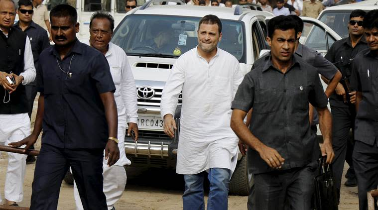 Govt flags 'gaps' in Rahul Gandhi's SPG detail