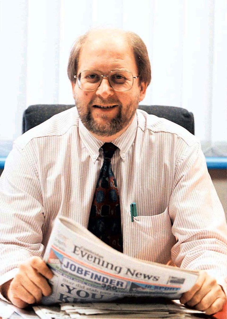 Bob Satchwell was editor of the Cambridge Evening News (PA) (PA Media)