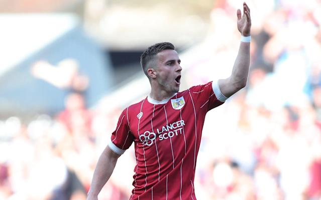 """Burnley manager Sean Dyche is ready to offer £6m for Bristol City's Joe Bryan as he prepares for the Europa League. Bryan is a top target for Burnley this summer and Dyche is set to test City's resolve to keep one of their key players of the season. The 24-year-old has scored six goals in the Championship and impressed during City's run to the Football League Cup semi-final, scoring against Manchester United. And Dyche is prepared to make his move at the end of the season, with Bryan likely to cost around £6m. Bryan's versatility appeals to Burnley as he can play left-back or in midfield. Dyche will be assured of funds by Burnley's board after an excellent campaign which seems certain to guarantee European football next season. Nick Pope, the goalkeeper, said: """"We've got to go in to the next game with the same attitude and get it over the line for sure but we're in a great position. Why Nick Pope must start in goal for England """"We'll look to take that forward after getting another point on the board and move on. """"Let's wait and see until it's nailed on. If you celebrate and it doesn't happen then you're left with egg on your face. It's important for us to get it over the line. """"It's a great achievement for the club, the staff, the players and the fans. It's a massive achievement for a club like Burnley to be playing Europa League football. The celebrations will be well deserved."""""""