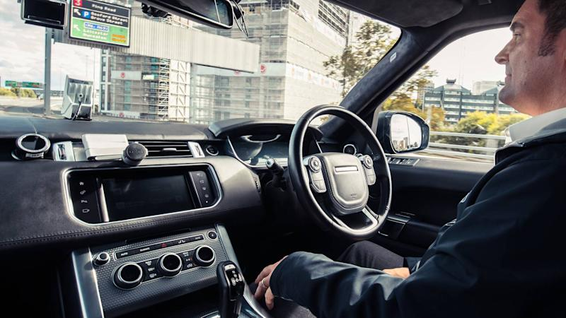 Autonomous Range Rover tackles the Coventry Ring Road