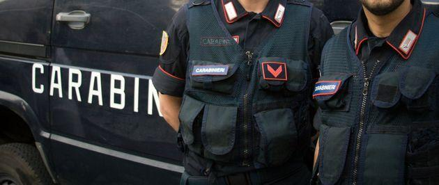 Rome, Italy: Carabinieri officers in front of their van in central Rome. The carabinieri police both the military and civilians in Italy. Close-up shot. (Photo: JannHuizenga via Getty Images)