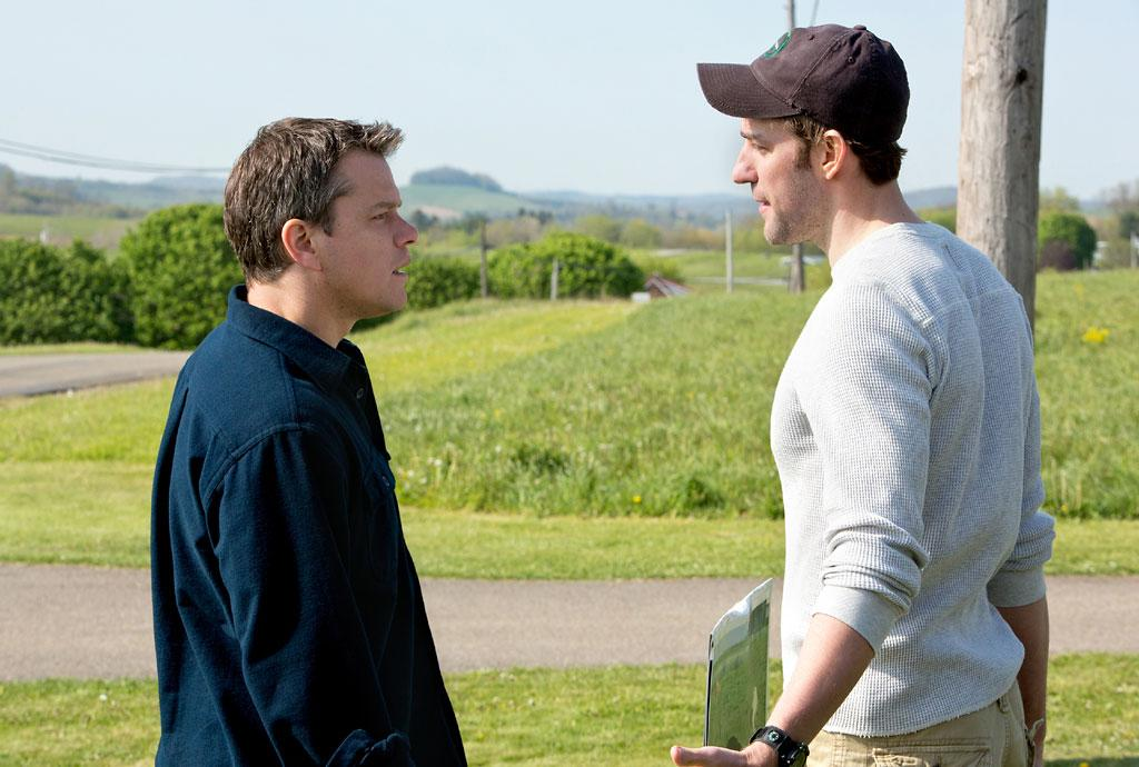 "Matt Damon and John Krasinski in Focus Features' ""Promised Land"" - 2012"