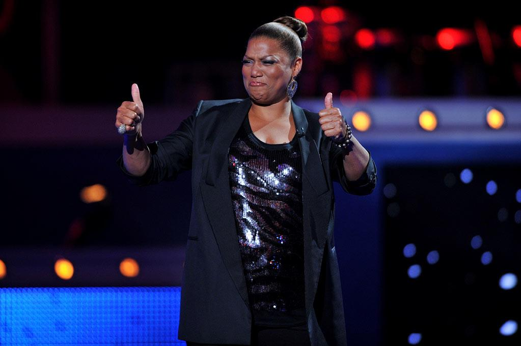 """Queen Latifah is the co-host of this year's <a href=""""/american-idol/show/34934"""">""""Idol Gives Back""""</a> festivities alongside Ryan Seacrest."""