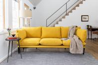 <p>This functional <span>Floyd Sofa </span> ($1,295) arrives in a box and is ideal for small apartments. It even comes in a ton of fun color choices, too.</p>