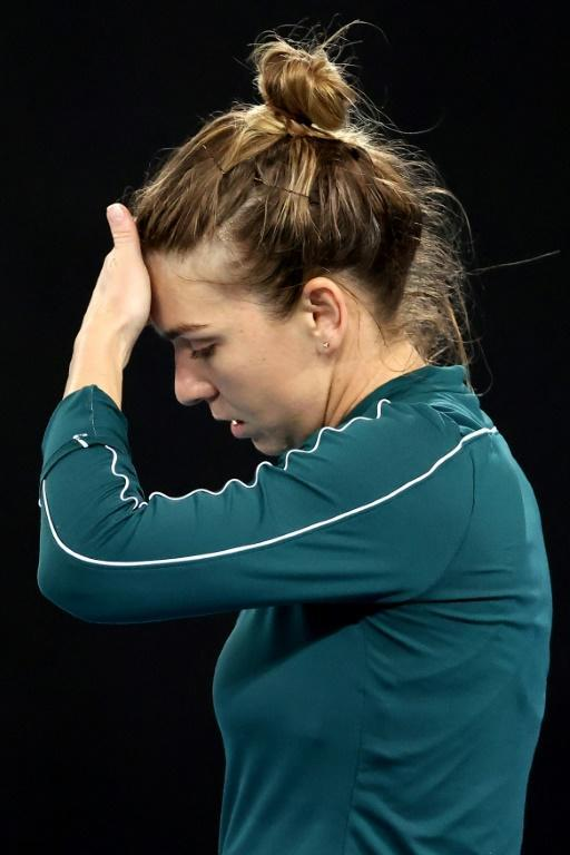 World number two Simona Halep lost to Russia's Ekaterina Alexandrova