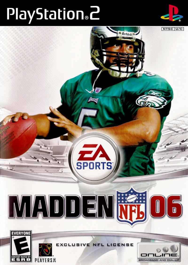 Madden 06 cover (via EA Sports/Sony)