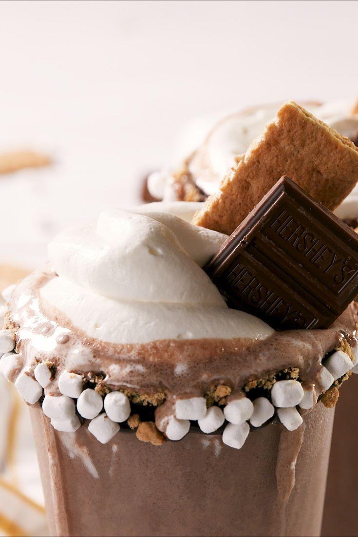 """<p>Warm up with a little Baileys. </p><p>Get the recipe from <a href=""""https://www.delish.com/cooking/recipe-ideas/a27761158/boozy-smores-milkshake-recipe/"""" rel=""""nofollow noopener"""" target=""""_blank"""" data-ylk=""""slk:Delish"""" class=""""link rapid-noclick-resp"""">Delish</a>.</p>"""