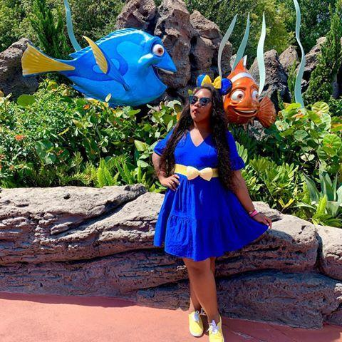 """<p>Orlando-based Nikki is not only an expert when it comes to Disney's most 'grammable backdrops, but she's also an incredibly talented curator who's been putting together <a href=""""https://www.amazon.com/shop/itsdarlingnikki"""" rel=""""nofollow noopener"""" target=""""_blank"""" data-ylk=""""slk:shop-able Disney looks"""" class=""""link rapid-noclick-resp"""">shop-able Disney looks</a> for quite some time. Oh, and she co-founded the #MagicFoodieTour.</p><p><a href=""""https://www.instagram.com/p/B9rOdkKnyRP/"""" rel=""""nofollow noopener"""" target=""""_blank"""" data-ylk=""""slk:See the original post on Instagram"""" class=""""link rapid-noclick-resp"""">See the original post on Instagram</a></p>"""