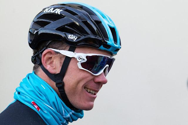 British cyclist Chris Froome, a four-time Tour de France winner, has urged UCI chief David Lappartient to talk directly to him about an ongoing probe into an adverse doping test (AFP Photo/JAIME REINA)