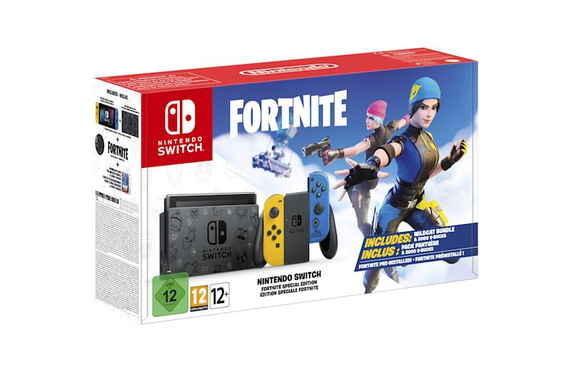 Nintendo Switch 'Fortnite' Edition