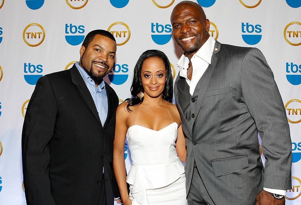 """Ice Cube's new sitcom """"Are We There Yet?"""" starring Essence Atkins and Terry Crews will debut on TBS this June. Mark Von Holden/<a href=""""http://www.wireimage.com"""" target=""""new"""">WireImage.com</a> - May 19, 2010"""