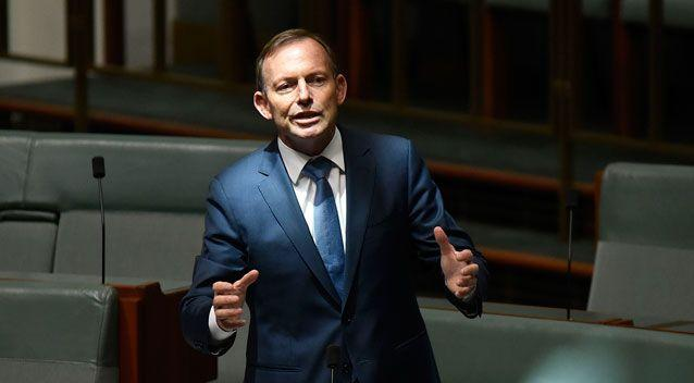 Former Prime Minister Tony Abbott abstained from the vote. Photo: Getty