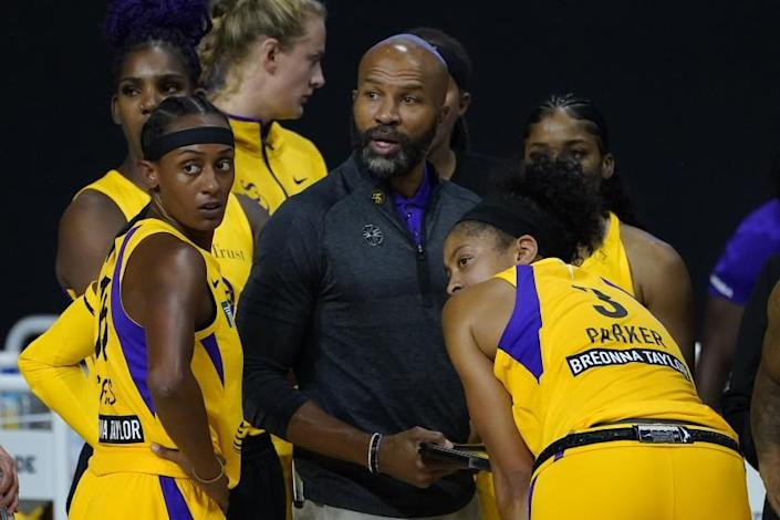Free Agency Questions Loom Large For Sparks And Coach Derek Fisher