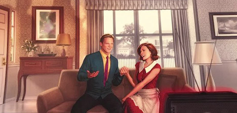 Paul Bettany and Elizabeth Olsen star in Marvel's first sitcom, 'WandaVision' for Disney+ (Photo: Marvel/Disney)
