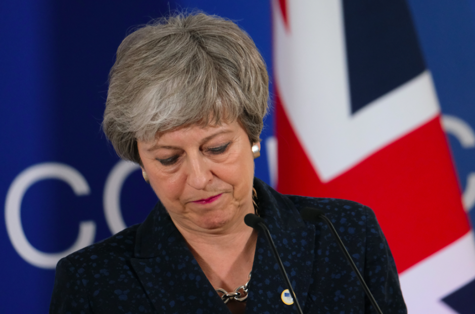<em>Theresa May's days are numbered at Downing Street, according to reports (Getty)</em>