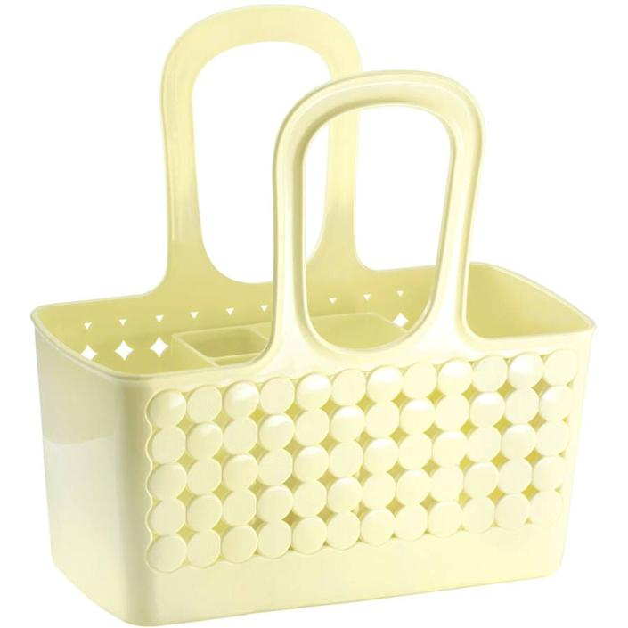 "<h3><a href=""https://www.walmart.com/ip/iDesign-Orbz-Divided-Bath-Shower-Tote-Lemon/55084263"" rel=""nofollow noopener"" target=""_blank"" data-ylk=""slk:iDesign Orbz Divided Bath Shower Tote"" class=""link rapid-noclick-resp""><strong>iDesign</strong> Orbz Divided Bath Shower Tote</a></h3> <p>Need an easy way to bring your essentials to the floor's showers? A flexible plastic tote is not only lightweight and roomy, but bonus points if it comes in a feel-happy pastel yellow like this find.</p> <br> <br> <strong>iDesign</strong> Orbz Divided Bath Shower Tote, Lemon, $15.51, available at <a href=""https://www.walmart.com/ip/iDesign-Orbz-Divided-Bath-Shower-Tote-Lemon/55084263"" rel=""nofollow noopener"" target=""_blank"" data-ylk=""slk:Walmart"" class=""link rapid-noclick-resp"">Walmart</a>"