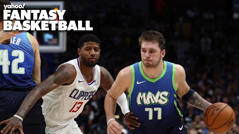 Luka Doncic had his hands full dealing with the LA Clippers defense.